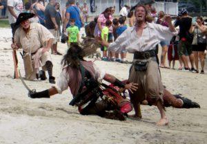 Epic Battle for Cedar Key!