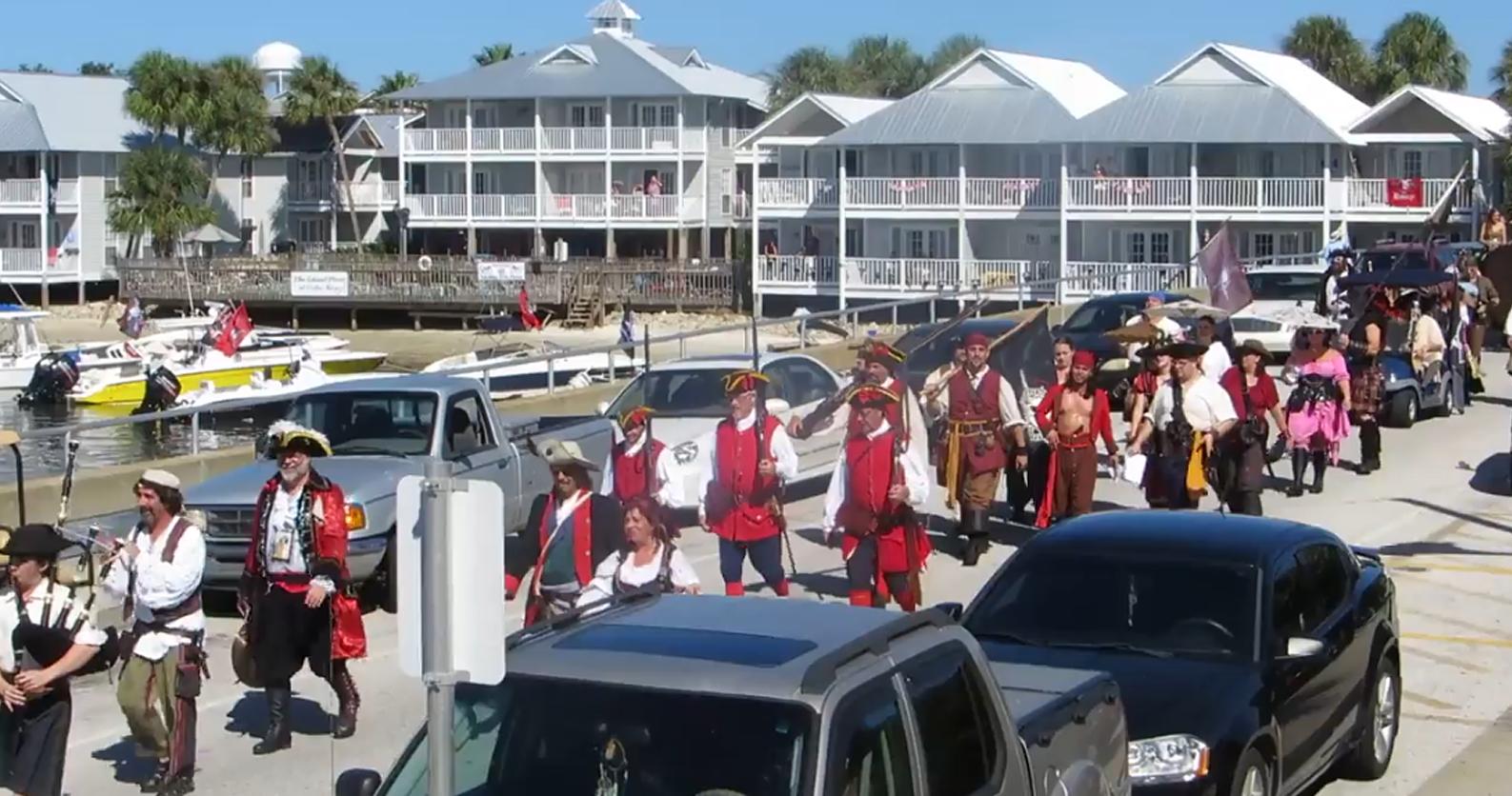 Pirate Parade Dock Street